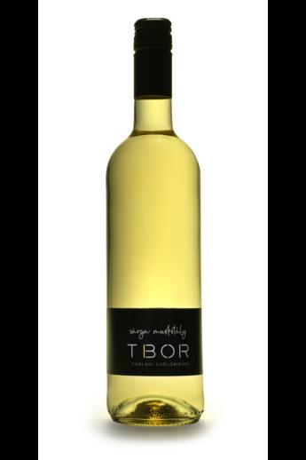 Tokaji Sárga muskotály száraz fehér bor 2019