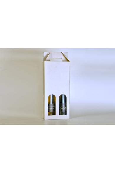 Karácsonyi csomag - 1 üveg 2019 száraz Furmint és 1 üveg 2019 száraz Sárga Muskotály